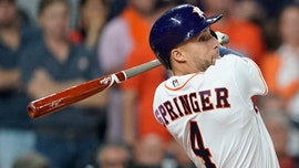 Houston Astros' George Springer addresses criticism over hustle on eighth-inning double
