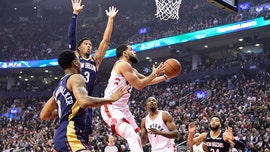 VanVleet scores career-high 34, Raptors top Pelicans 130-122