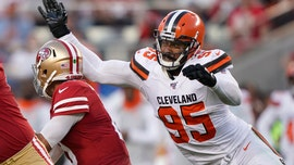 Cleveland Browns' Myles Garrett says he was sucker-punched after taking picture with 'fan'