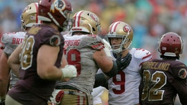 San Francisco 49ers, Washington Redskins slop fest summed up in one photo