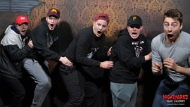 Halloween haunted house releases pictures of terrified visitors