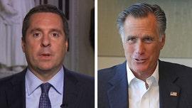 Rep. Nunes rips Mitt Romney, compares him to James Comey