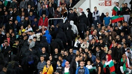 Bulgaria detains 4 soccer fans following racist acts