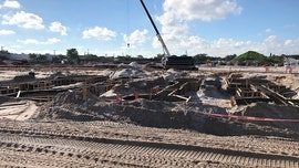 Beckham's stadium complex for Inter Miami taking shape