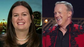 Sarah Sanders says her whole family votes for Sean Spicer on 'Dancing with the Stars'