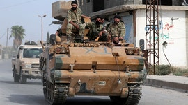 Turkish-led Syrian rebel fighters advancing on flashpoint region of Manbij