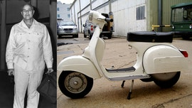 Marlon Brando's 'illegal' Vespa scooter up for auction
