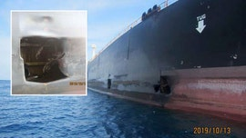 Iran oil tanker damage from apparent missile attack captured in new photos