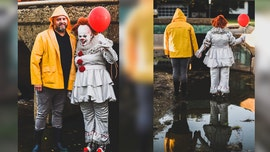 Oklahoma couple stages 'It' photo shoot reenacting scenes from the creepy film