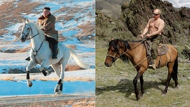 Kim Jong Un channels inner Putin, rides white horse on sacred mountain in equine propaganda shoot