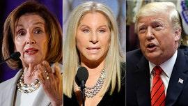 Barbra Streisand tweets cartoon of Nancy Pelosi impaling Trump with giant high heel