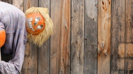 Homeowner censors Halloween decoration after HOA found the mooning pumpkin man offensive
