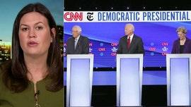 Sarah Sanders: Dems on debate stage knew Warren is frontrunner and Biden is 'finished'