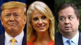 Kellyanne Conway's husband makes awkward appeal for 'someone' on Trump's 'runaway train' to stop him