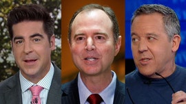 Jesse Watters calls Adam Schiff 'corrupt,' Greg Gutfeld says he is the 'perfect target' for Trump and Republicans