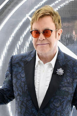 Elton said he did WHAT?