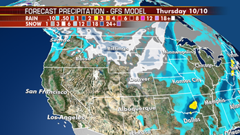 Developing winter storm threatens Northern Rockies, Northern Plains