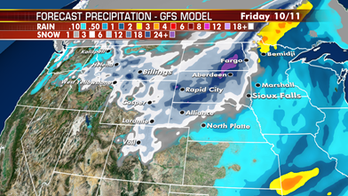 Snow to become heavier across Northern Rockies, spread into Northern Plains