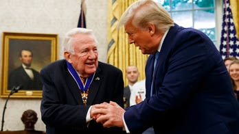 Ed Meese, attorney general under Reagan, receives Presidential Medal of Freedom from Trump