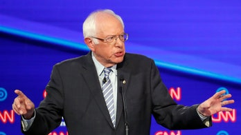 Sanders promises new jobs for 'tens of millions of Americans' during Democratic debate