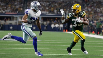 Green Bay Packers' Aaron Jones waves 'bye-bye' to Dallas defense and $10G: It's a 'dope picture'