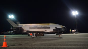Air Force's mysterious X-37B space plane returns to Earth after record-breaking 780 days in orbit