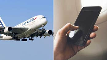 Air France flight diverted after 'suspicious' cell phone found on plane