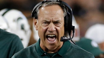 Michigan State's Mark Dantonio gives testy response to question about his offense after shutout loss