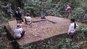 Mysterious lost city discovered in Cambodian jungle