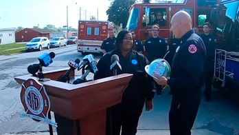 Milwaukee bus driver honored for saving residents from burning apartment