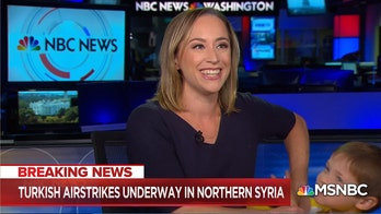 WATCH: NBC correspondent's Syria report gets interrupted on live TV by her young son
