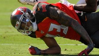 Buccaneers' Carlton Davis ejected for helmet-to-helmet hit on Saints receiver
