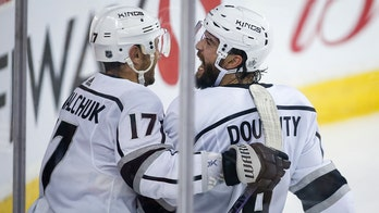 Los Angeles Kings' Drew Doughty delivers explicit message to Calgary Flames fans after game-winner