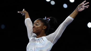 Simone Biles sets another record at world championships after winning 22nd medal