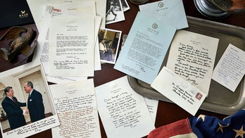 Rare Reagan letters to Hollywood friend reveal life in the Oval Office, including 'leaks,' 'media' and 'JFK'