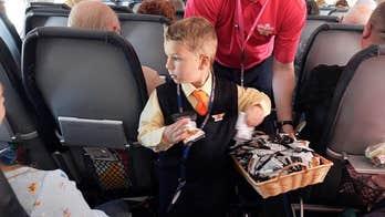 Allegiant Air names boy, 5, an 'honorary flight attendant' on Make-a-Wish trip