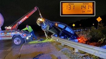 Georgia DUI suspect evades police, crashes car going 131 mph: police