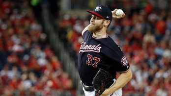 Nationals' Strasburg dominant in 8-1 win over Cardinals; 1 win from World Series