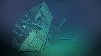 US WWII shipwreck discovered in the Philippine Sea is the deepest ever found