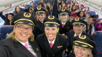 Delta flies 120 girls to NASA with all-women crew to celebrate Girls in Aviation Day