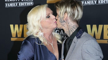 Aaron Carter explains face tattoo, says his mom inspired it