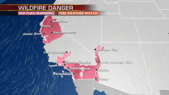 Dangerous fire conditions remain across much of California; significant winter storm brewing across Rockies