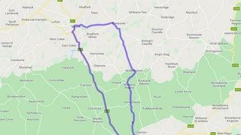 British officials create 41-mile detour for 65-foot-long road closure