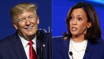Kamala Harris calls Trump 'serial predator' in fundraising email