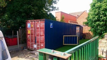 Shipping container intended as Airbnb rental deemed 'appalling' by town council: 'An abomination'