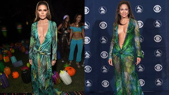 Lisa Rinna dressed as Jennifer Lopez for Halloween – and the pop star approves