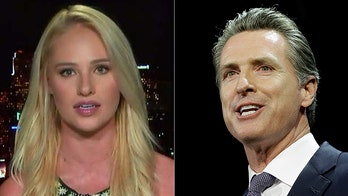 Tomi Lahren blasts California governor for giving aid to illegal immigrants, while threatening first responders