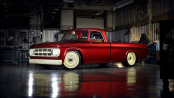 Diesel Dodge Lowliner pickup is a retro Ram custom