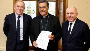 French billionaires make good on $109M pledge to help Notre Dame restoration