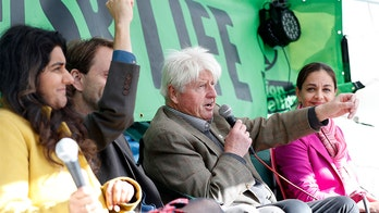 Boris Johnson鈥檚 father joins climate activists his son panned as being 鈥榰ncooperative crusties鈥�